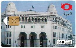 Algeria - PTT/Monetel - Central Post Office, Gem1A Symmetr. Black, 1996, 140Units, Used - Algeria