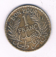 5 FRANC 1921 TUNESIE /7050/ - Tunisia