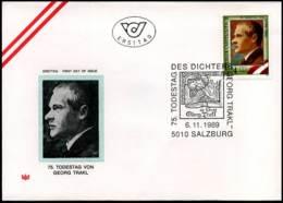 Oostenrijk - FDC - Georg Trakl - FDC