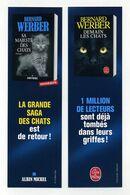 Bernard Werber Aux éditions Le Livre De Poche : La Saga Des Chats. Demain Les Chats, Sa Majesté Des Chats. Albin Michel - Bookmarks