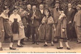 LE VEURDRE : Concours De Danse Bourbonnaise - Tres Bon Etat - Otros Municipios