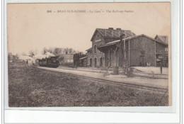 BRAY SUR SOMME - La Gare - The Railway Station - Très Bon état - Bray Sur Somme