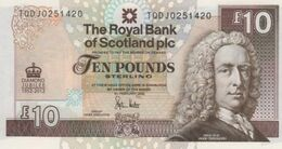 (B0035) SCOTLAND, 2012. 10 Pounds. Commemorative Issue. P-368. UNC - 10 Pounds