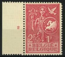 België 928 ** - Plaatnummer 2 - ....-1960