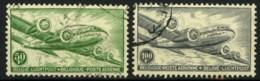 België PA10A/11A - Vliegtuig - Avion - DC 4 - Skymaster - Gestempeld - Oblitéré - Airmail