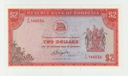 Rhodesia (Zimbabwe) 2 Dollars 1979 P-39 UNC - Zimbabwe