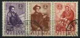 België 1128/30 - Wereldjaar Voor De Vluchteling - Uit BL32 - Année Mondiale Du Réfugié - Gestempeld - Oblitéré - Used Stamps