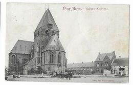 Deux-Acren  (M 5587) Carrosse Devant L'Église Et Prés Le Couvent - Lessines