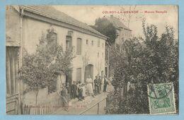 UR00447  CPA  COLROY-LA-GRANDE  (Vosges)  Maison Stempflé  - Animation  - Timbre Allemand  ++++ - Colroy La Grande