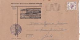 Enveloppe Administration Communale De Annevoie-Rouillon - 1970-1980 Elström