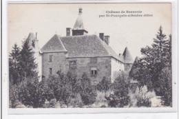 St-POURCAIN-sur-BESBRE : Chateau De Beauvoir - Tres Bon Etat - Andere Gemeenten