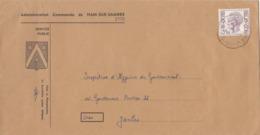 Enveloppe Administration Communale De Ham-sur-Sambre - 1970-1980 Elström