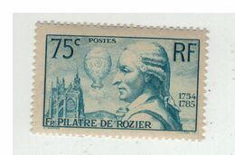 YV 313 Pilatre De Rozier N** Cote 45 Euros - Ongebruikt