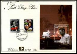 2003-7bis - FDS - 3167/68 + BL103 - Georges Simenon - Other