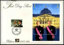 2003-14bis - FDS - 3201 + BL105 - Koning Boudewijn - Koning Albert - Other