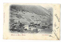 BINN (Suisse) Carte Gruss Hotel Ofenhorn - VS Valais