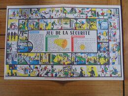 PUBLICITE - JEU DE LA SECURITE - INSTITUT NAIONAL DE SECURITE - Altre Collezioni