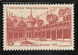 FRANCE N°539 ** TB SANS DEFAUTS - Nuovi