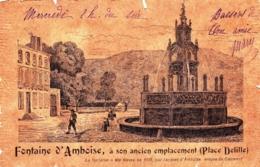 63 - Puy De Dome - CLERMONT FERRAND - Fontaine D Amboise A Son Ancien Emplacement Place Delille - 1902 - Clermont Ferrand