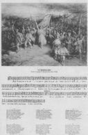 Carte Postale Avec Partition &paroles De La Marseillaise. Scan - Historia