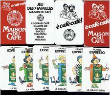 LA MAISON DU CAFE JEU DES 7 FAMILLES JEU PUBLICITAIRE DE CARTES A JOUER - Playing Cards