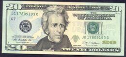 USA 20 Dollars 2009 G  - UNC # P- 533 < G7 - Chicago IL > - Biljetten Van De  Federal Reserve (1928-...)