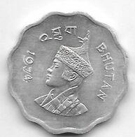 *Bhutan 10 Chetrums 1974 Km 38  Unc/ms63 - Bhutan