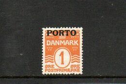 DANEMARK 1921 * - Segnatasse