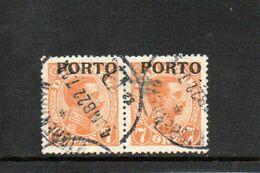 DANEMARK 1921 O - Segnatasse