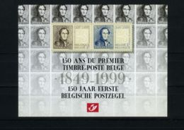 België LX88 - Luxevelletje - Feuillet De Luxe - Dag Van De Postzegel - Zegel Op Zegel - Timbre Sur Timbre - (2817/18) - Deluxe Panes