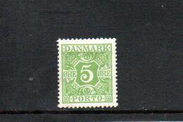 DANEMARK 1930 * - Segnatasse