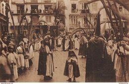 CPA - Espana / Spain, MALAGA, Semana Santa,  Procesion De La Palmas - Málaga