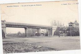 44083 -    Bruxelles - Woluwe  Le Pont Et La Gare De Woluwe - Woluwe-St-Lambert - St-Lambrechts-Woluwe