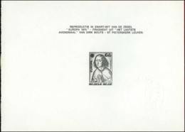 België ZNP 8 - 1976 - Europa 1975 - Kunst - Dirk Bouts - (1766) - NL - Feuillets Noir & Blanc