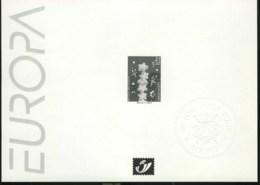 België ZW/NB 2922 - Europa 2000 - Feuillets Noir & Blanc