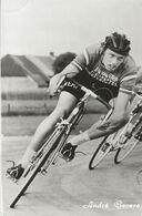 CARTE CYCLISME ANDRE GEVERS TEAM JAN VAN ERP 1973 - Wielrennen