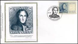 2818 - FDC Zijde - Dag Van De Postzegel  #4 - 1991-00