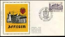 2149 - FDC Zijde - Abdijen  #4 - 1981-90
