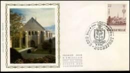 2147 - FDC Zijde - Abdijen  #2 - 1981-90