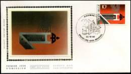 "2103 - FDC Zijde - ""MADE IN BELGIUM I""  #2 - 1981-90"