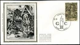 2030 - FDC Zijde - Kerstmis  #4 - 1981-90