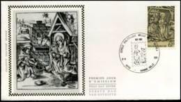 2030 - FDC Zijde - Kerstmis  #3 - 1981-90