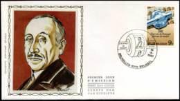 2008 - FDC Zijde - Dag Van De Postzegel  #8 - 1981-90