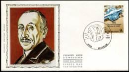 2008 - FDC Zijde - Dag Van De Postzegel  #2 - 1981-90