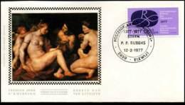 1838 - FDC Zijde - Internationaal Rubensjaar  #2 - FDC