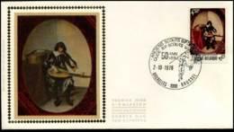 1827 - FDC Zijde - Jeugdfilatelie  #4 - FDC