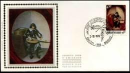 1827 - FDC Zijde - Jeugdfilatelie  #3 - FDC