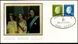 1814+1815 - FDC Zijde - Koning Boudewijn  #29 - FDC