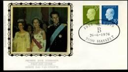 1814+1815 - FDC Zijde - Koning Boudewijn  #19 - FDC