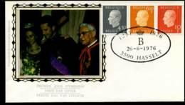 1811+1812+1813 - FDC Zijde - Koning Boudewijn  #4 - FDC
